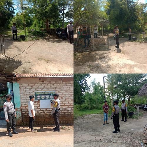 Polsek Lenteng Patroli Tempat Wisata Boekit Tinggi Desa Daramista Kec Lenteng Polres Sumenep